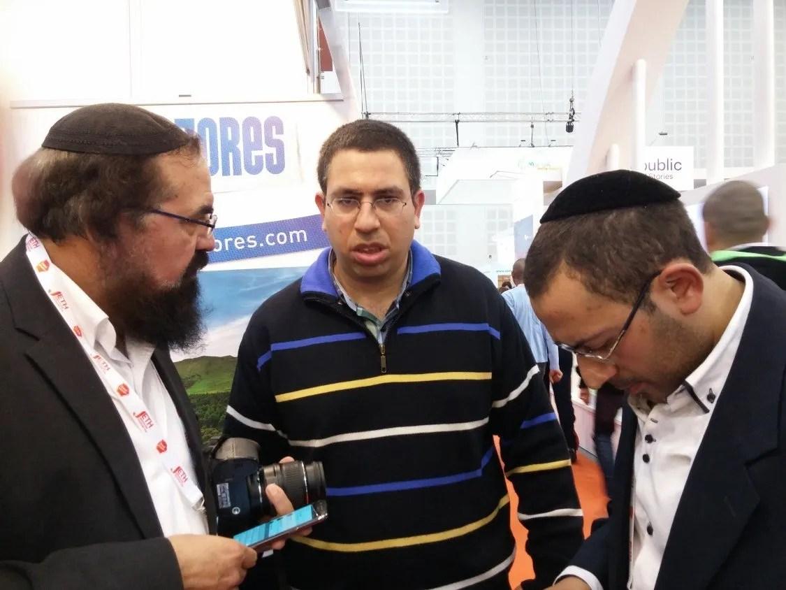 Feira judaica do turismo português em Israel
