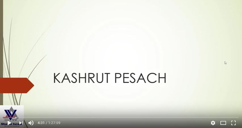 Série sobre Leis de Kashrut – Aula 5