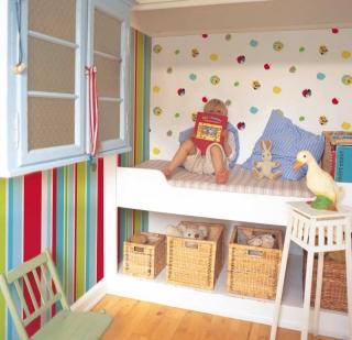 Cómo Renovar Habitaciones Infantiles con Papel Pintado