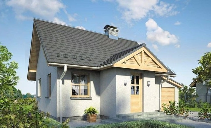 Casa prefabricada convencional c02 con cochera 675 42 46 93 - Casas prefabricadas canexel ...