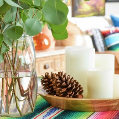10 Ways To Decorate With Mexican Blankets For Fall