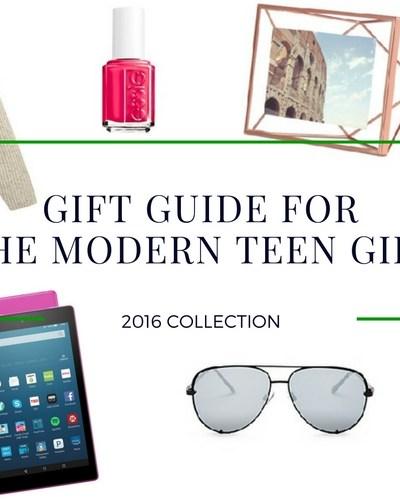 Gift Guide for Teen Girls
