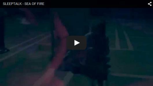 sea of fire video