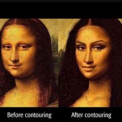 artwork contoured