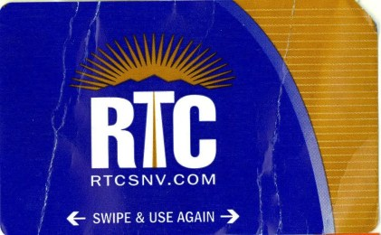 Las Vegas RTC Bus Ticket