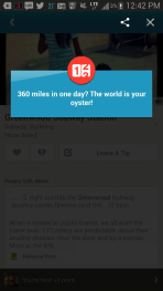 BiSC and Las Vegas 2013 — Foursquare — 360 Miles