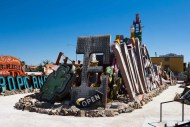 BiSC and Las Vegas 2013 — The Neon Museum — View of the Entire Museum