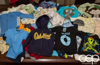 Baby Shower — SO MANY BABY CLOTHES