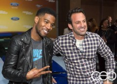 #FordNAIAS 2014 — Day 2 — Cobo Hall — Behind the Blue Oval — Need for Speed Screening — Scott Mescudi (aka Kid Cudi) and Scott Waugh