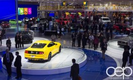 #FordNAIAS 2014 — Day 2 — Cobo Hall — North American International Auto Show — Ford Motor Company — Booth