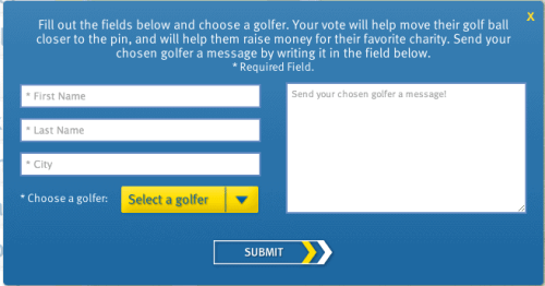 #RBCGolf4Kids On-Site Entry Form