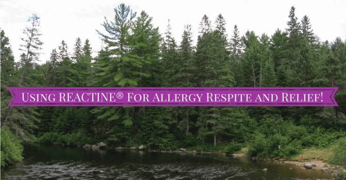 Using REACTINE® for Allergy Respite and Relief (Banner)