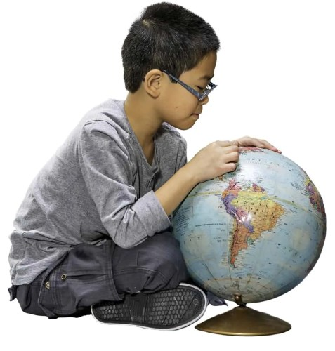 The Ontario College of Teachers — Boy Playing with a Globe