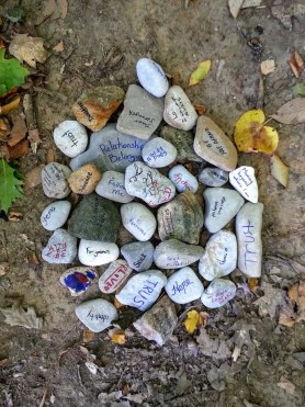 A Week in the Life... September 27th - October 3rd, 2015 — Camp Kwasind — Rocks with Words from God