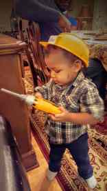The Week That Was... November 15th - 21st, 2015 — Little Man Gives His Toy Drill a Test Run