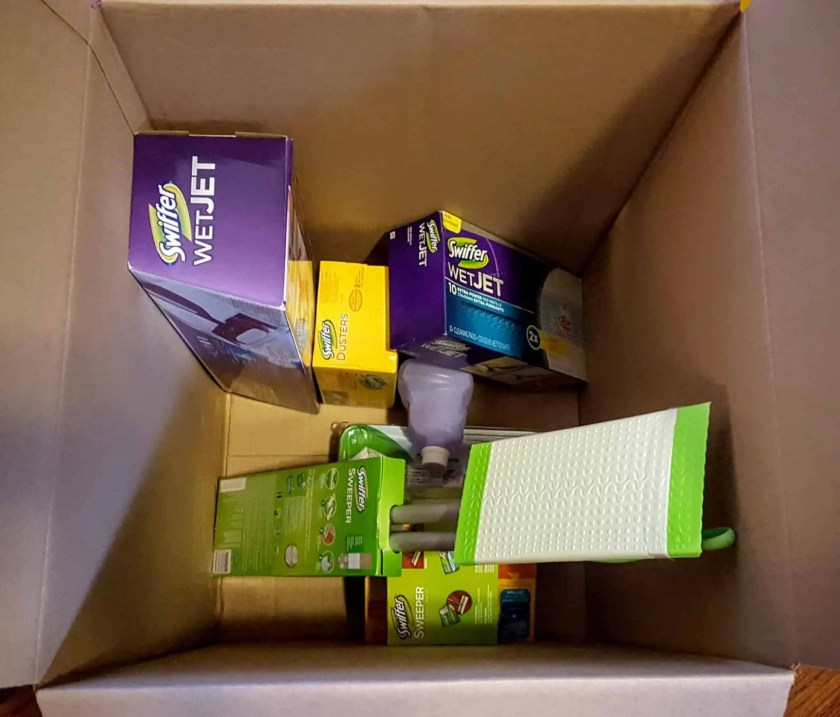 """Saying """"Yes"""" to the Mess — How Swiffer Helps with the Hot Mess of Parenting — Swiffer Products to the Rescue!"""