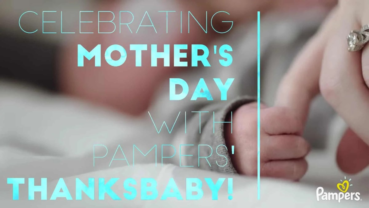 Celebrating Mother's Day with Pampers' #ThanksBaby! (Featured Image)
