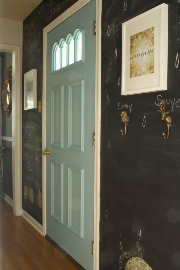 #EclecticallyFall Chalkboard Wall