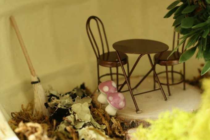 fairy house pumpkin interior #trickyourpumpkin