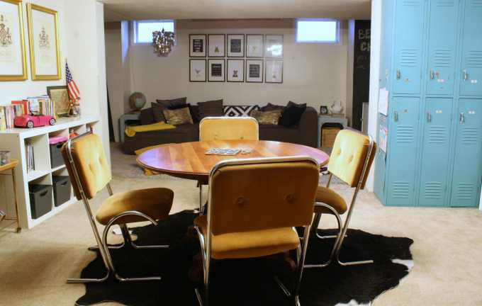 eclectic playroom reveal