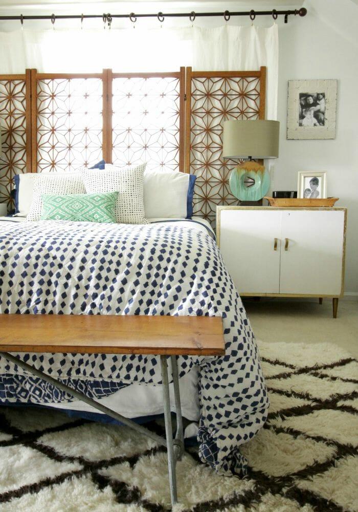 Master Bedroom Progress- White Walls