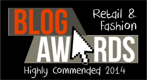 uk blog awards retail and fashion highly commended