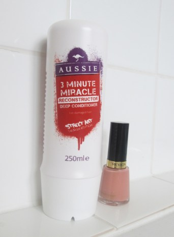 cassiefairys beauty and hair product purchases during my use-up challenge nail polish and 3 minute miracle
