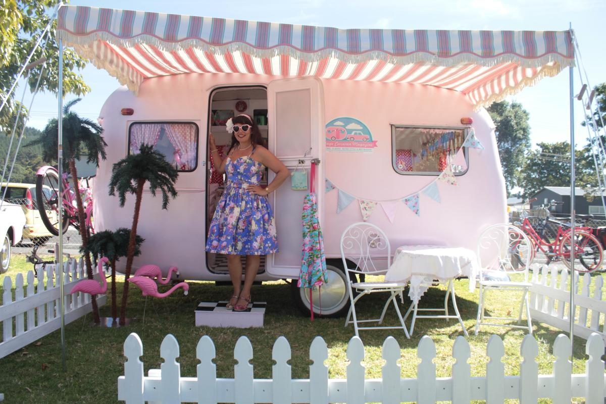 An inspirational interview with 'Vintage Caravan Style' author Lisa Mora