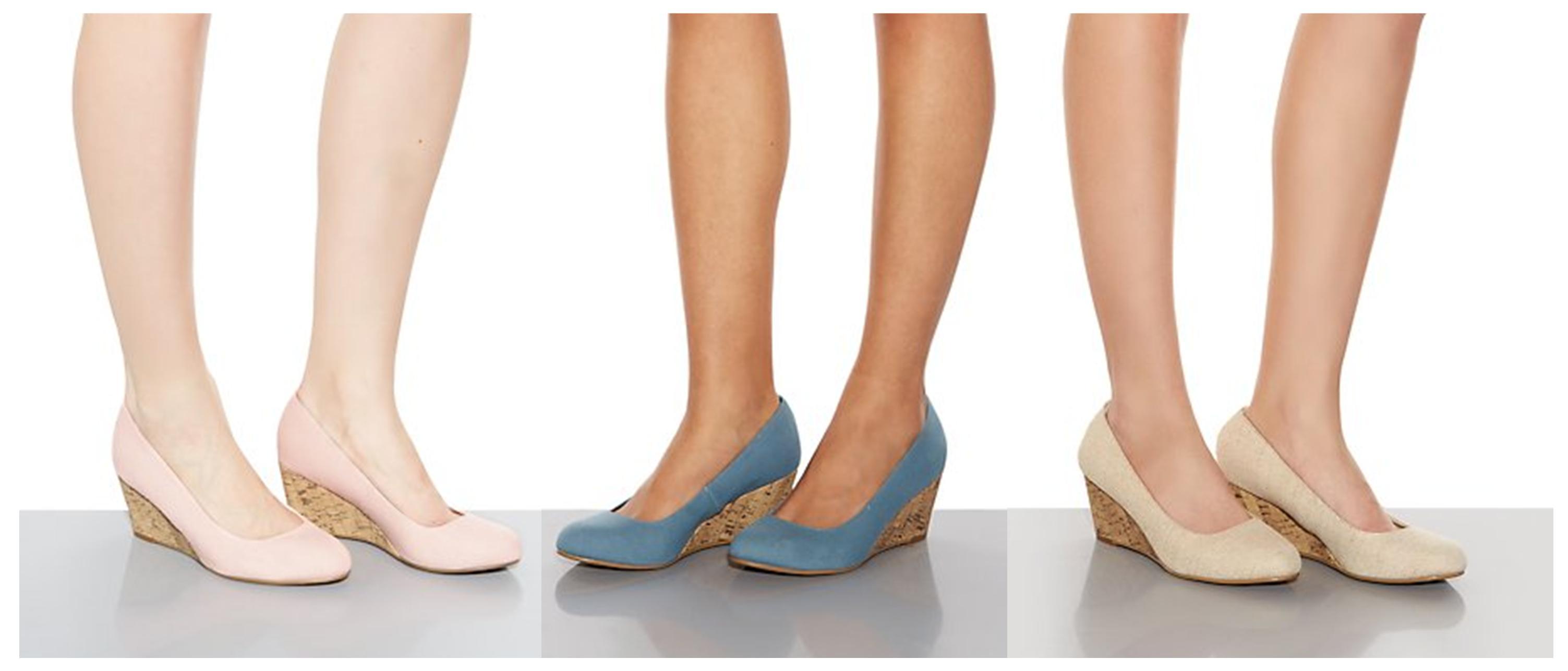 Comfy Wedge Heels