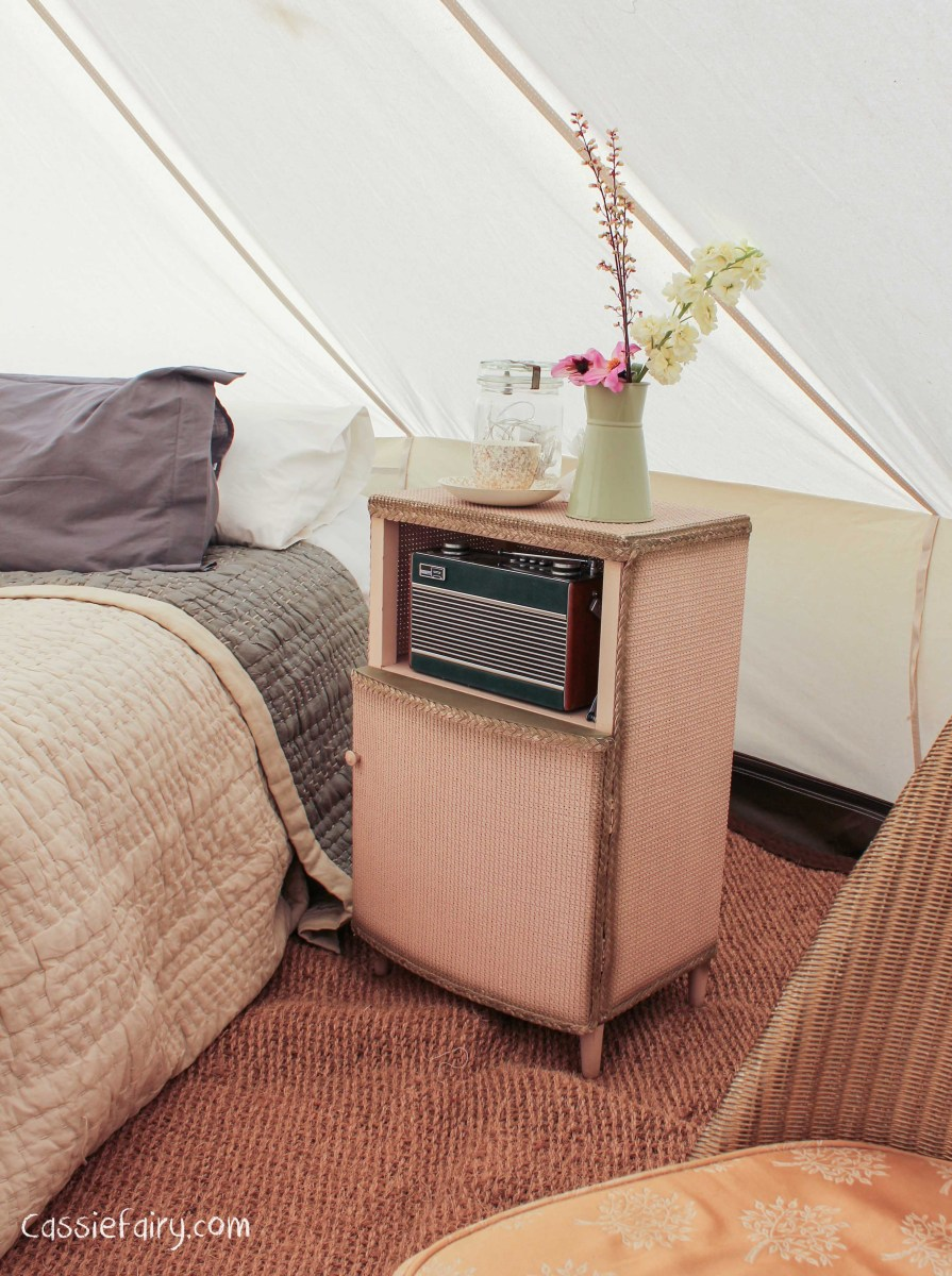 Glamping festival ideas bell tents 4 cassiefairy 39 s for Glamping ideas diy
