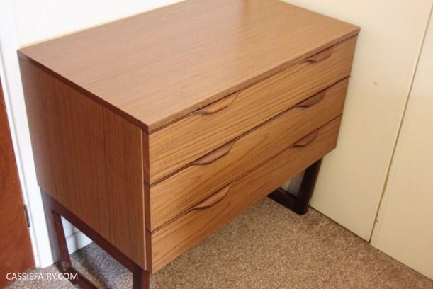 diy furniture makeover project - desk and shelf