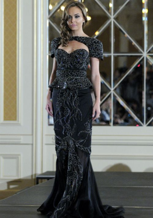 debbie wingham most expensive dress on the planet black gown