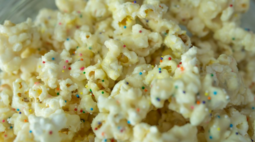Movie Night: Birthday Cake Popcorn