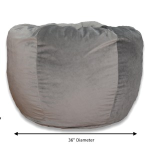 XLarge Washed Velvet Bean Bag