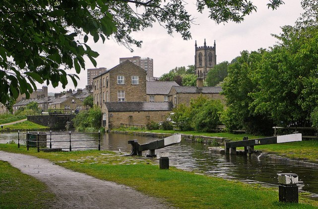 Sowerby Bridge by Tim Green - Walks in Hambleton