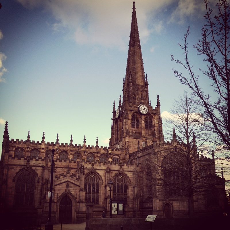 "The Parish Minster of All Saints was described by Pevsner as ""one of the largest and stateliest of parish churches in Yorkshire"""