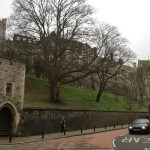 nice view of the Windsor Castle from the Windsor and Eton Riverside station
