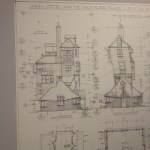 detailed drawings used to create the sets
