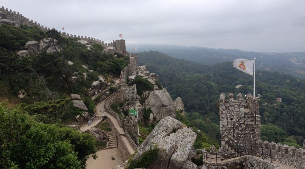 Castelo dos Mouros (Castle of the Moors), Sintra, Portugal