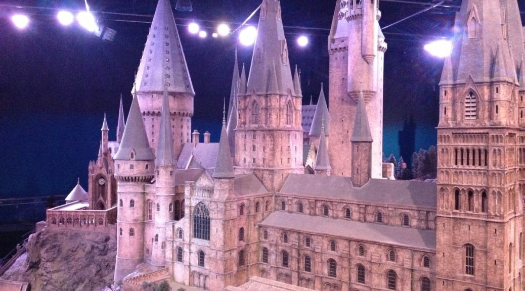 Large model of Hogwarts