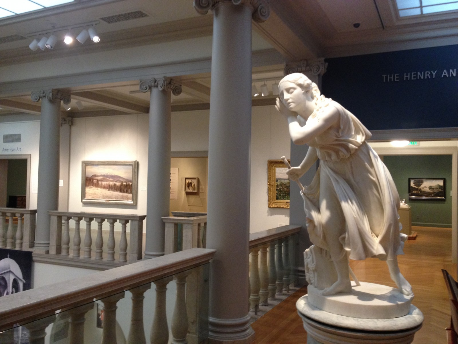 Upper Level Gallery At The Currier Museum Of Art