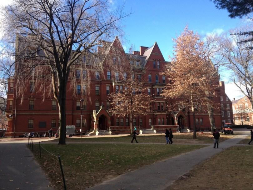 Harvard University's Matthews Hall