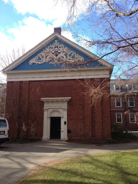 Holden Chapel at Harvard University