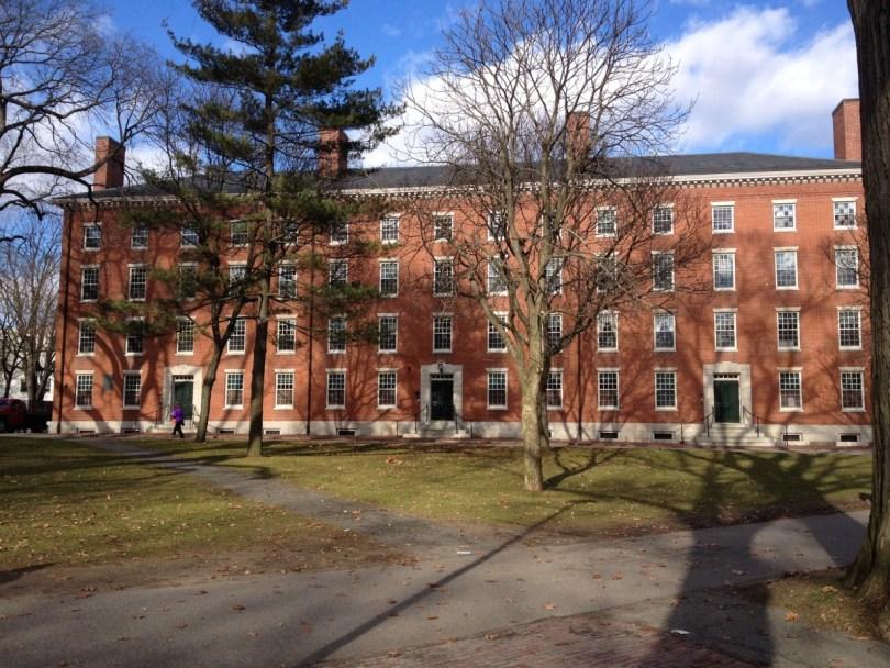 Harvard University's Holworthy Hall
