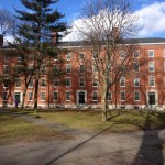 Harvard University's Holworthy Hall