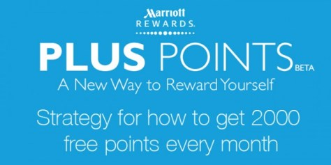 Official Marriott Rewards Plus Points logo