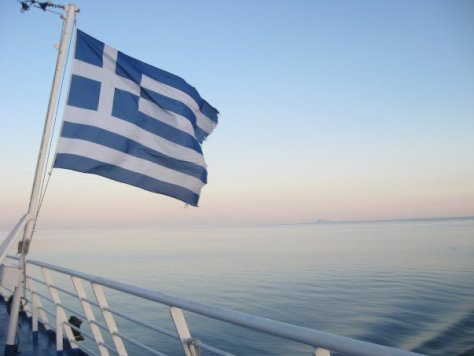 photo from Sarah's voyage on a Greek ferry