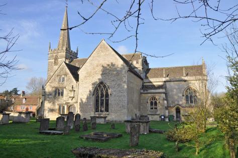 medieval church of St. Cyriac