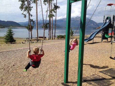 playground in Dillon, Colorado