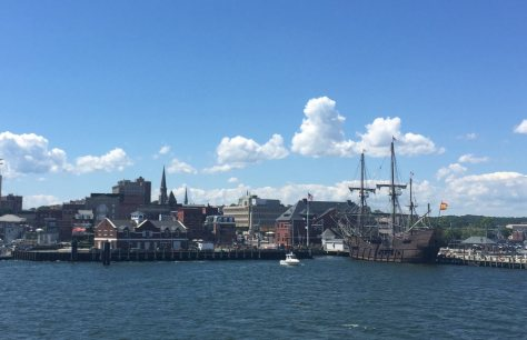 El Galeon in the New London, CT port